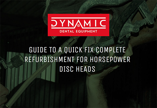 GUIDE TO A QUICK FIX COMPLETE REFURBISHMENT FOR HORSEPOWER DISC HEADS