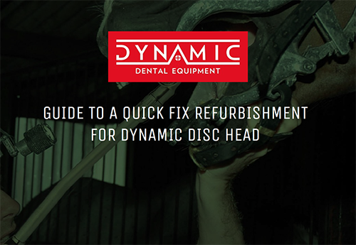 GUIDE TO A QUICK FIX REFURBISHMENT FOR DYNAMIC DISC HEAD