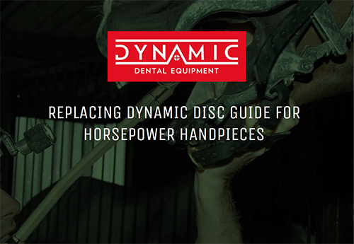 REPLACING DYNAMIC DISC GUIDE FOR HORSEPOWER HANDPIECES